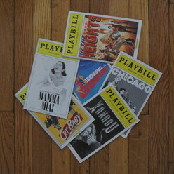 Playbills from students of Winters Vocal Studios in West Palm Beach, FL performing Broadway musicals.